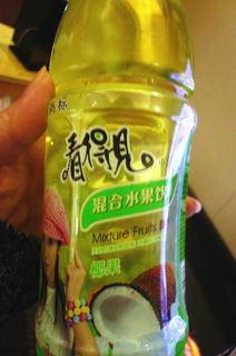 上海で買ったジュース