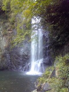 箕面の滝1